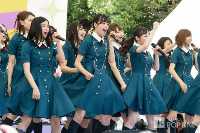 欅坂46,TIF2016制服