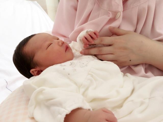 ママと新生児