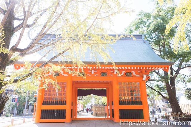 葛飾八幡宮,八幡神社