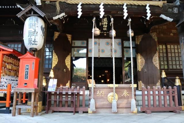 年末詣の神社
