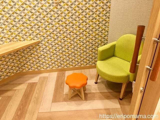 五反田東急スクエア授乳室の個室