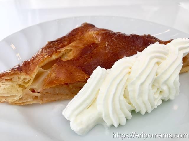 目白 カフェネスト アップルパイ