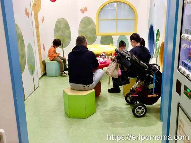 サンシャインB1 授乳室 食事場所