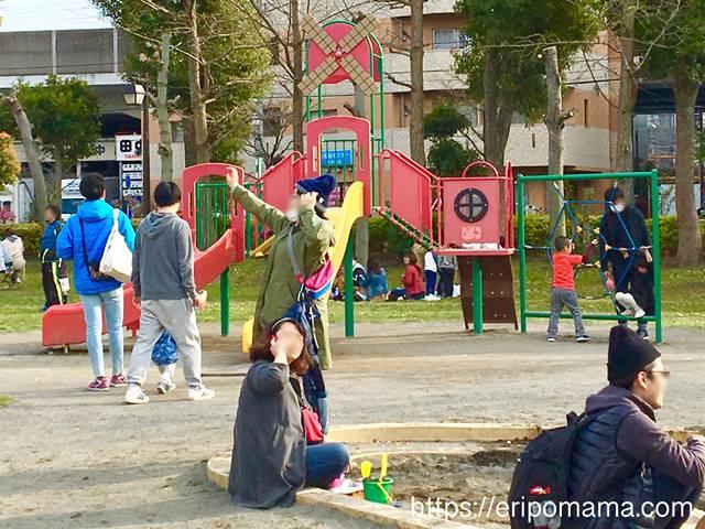 浮間公園 ちびっこ広場