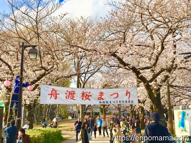 浮間公園 舟渡桜まつり