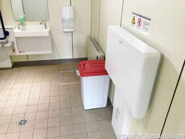 ばんえい競馬場 多目的トイレ