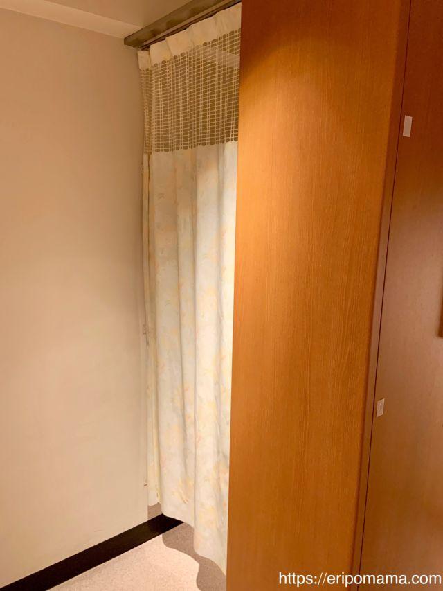 サンシャイン水族館 授乳室のカーテン