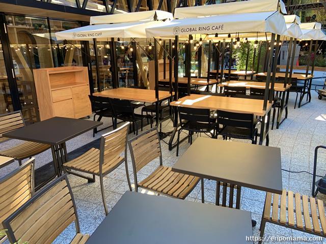 GLOBAL RING CAFE グローバルリングカフェ テラス席