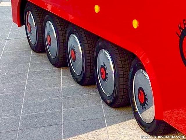 IKEBUS イケバスの車輪