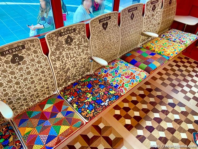 IKEBUS イケバスの座席