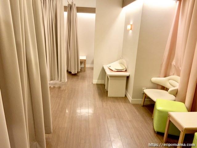 新宿高島屋 授乳室 個室